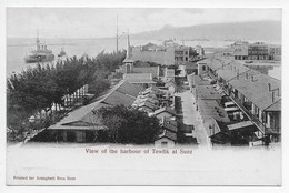 View Of The Harbour Of Tewfik At Suez - Undivided Back - Suez