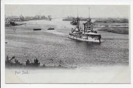 Port Said - Undivided Back - Port Said
