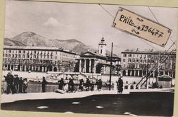 06 Nice - Cpsm / Place Cassini - Le Port. Circulé. - Maritiem Transport - Haven