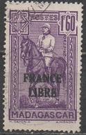 MADAGASCAR  1942   __ N°  250  __OBL  VOIR SCAN - Oblitérés