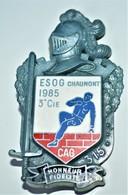 Rare Insigne ESOG Chaumont 1985 3 E Cie - 1939-45