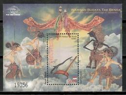 Indonesia 2010 / Intangible Cultural Heritage MNH Patrimonio Cultural / Cu15430  5-5 - Otros