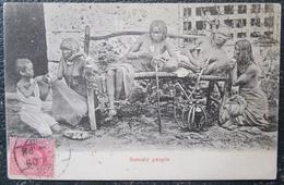 Somalie Somaly People  Cpa Timbrée - Somalie
