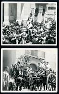 Foto, Akrigent, 8.7.1929, 7 Stück, Santo Calogero, Girgenti, Sizilien, 105 Mm X 80 Mm - Agrigento