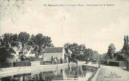 EPINEUIL - Canal Du Berry, Pont écluse Sur La Queune. - Frankrijk