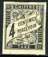 N°4 - Non Oblitéré - Taxes