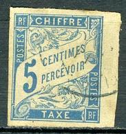 N°18 - Oblitéré - Taxes