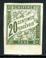 N°21 - Non Oblitéré - Taxes