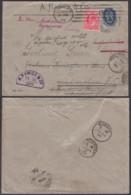 Russie - Lettre  21/04/1904 Yv 44 Vers Londres Et Réexpédiée Vers L'Hôtel Bedford à Bognor Sussex .TB (RD55) DC5558 - 1857-1916 Impero