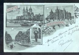 Amsteredam - Litho - 1899 - Amsterdam