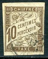 N°19 Oblitéré - Postage Due