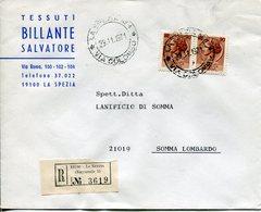 Italia (1971) - Raccomandata Da La Spezia (succ. 1) - 6. 1946-.. Repubblica