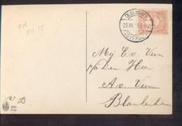 Oldemarkt (overijsel) Langebalk - 1915 - Poststempel