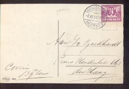 Den Haag - Balistraat 2 Langebalk - 1931 - Postal History