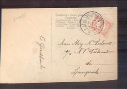 Goudriaan Langebalk - 1912 - Postal History