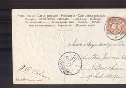 Winschoten Grootrond - Benschop Langebalk - 1910 - Poststempel