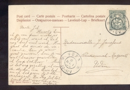Uden Grootrond Vugth - 1906 - Marcophilie