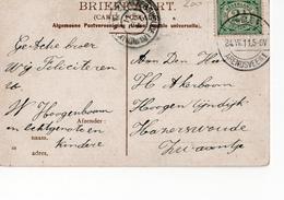 Roelofarendsveen 1 Langebalk - 1911 - Poststempel