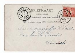 Wommels Grootrond Winsum - 1904 - Poststempel