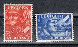 Niederlande 402/403 Postfrisch - Legion 1942 - 1891-1948 (Wilhelmine)