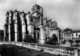 B64094 Cpsm Lodève - Chevet De La Cathédrale - Lodeve
