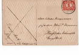 Ten Post Grootrond - 1908 - Poststempel