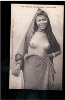 EROTIC Afrique Occidentale - Femme Arabe, Fortier Ca 1910 -20 Old Postcard (1) - Afrique Du Sud, Est, Ouest