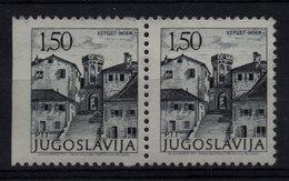 61. Yugoslavia 1972 Imperforated At The Left Side Pair MNH - 1945-1992 Sozialistische Föderative Republik Jugoslawien
