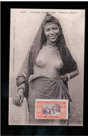 EROTIC Afrique Occidentale - Femme Arabe, Fortier Ca 1910 -20 Old Postcard (2) - Afrique Du Sud, Est, Ouest