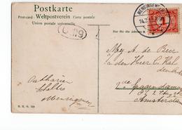 Mensingeweer Langebalk - 1913 - Postal History