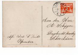 Ilpendam  Langebalk - 1925 - Postal History