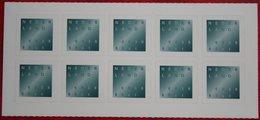 Block Of 10 Rouwzegel Gestanst Dubbele Waarde NVPH 1987 (Mi 1904) 2001 POSTFRIS MNH ** NEDERLAND NIEDERLANDE NETHERLANDS - 1980-... (Beatrix)