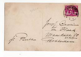 Nieuw Helvoet Langebalk - 1921 - Postal History