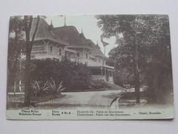 ELISABETHVILLE Palais De Gouverneur ( Desaix / Série 9 - N° 6 > Carte De Récompense ) Anno 1933/34 ( Voir Photo ) ! - Lubumbashi