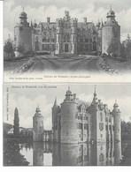 2 CP. De VORSSELAER - Façade Principale Et Vue De Derrière En 1905 Edit. Bastijns - Vorselaar