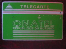Télécarte Du Burundi - Burundi