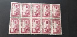 Maroc Yvert 129** Bloc De 10 - Maroc (1891-1956)