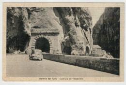 C.P.  PICCOLA     GALLERIA  DEL  FURLO   COSTRUITA  DA  VESPASIANO         2   SCAN    (NUOVA) - Italy