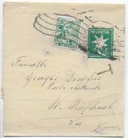 1942 - SUISSE - BANDE JOURNAL ENTIER POSTAL Avec COMPLEMENT De BASEL + TAXE POSTE RESTANTE => ST RAPHAËL (VAR) - Enteros Postales