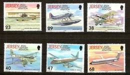 Jersey 2003 Yvertn° 1075-1080 *** MNH Cote 12,50 Euro Aviation Airplanes Vliegtuigen - Jersey
