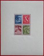 Inheemse Voorstellingen Vogel Animal Tiere Fish Bird  NVPH 308 1955 1953-1954 POSTFRIS / MNH  SURINAME / SURINAM - Suriname ... - 1975