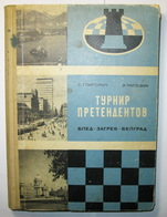 Chess Tournament Of Contenders 1959 Bled Zagreb Belgrade - Livres, BD, Revues