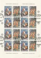Grecia - Europa CEPT 1988, Minifoglio Annullato 1° Giorno - Europa-CEPT