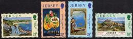 Jersey 2003 Yvertn° 1083-1086 *** MNH Cote 8,25 Euro Europa Cept Art De L' Affiche - Jersey