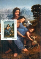 CM-Carte Maximum Card # France-2019 # Art #Tableau,Gemälde, Painting By Leonard De Vinci - Cartoline Maximum