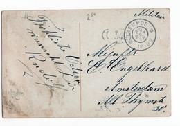 Liempde Grootrond - 1918 - Militair Verzonden - Poststempel