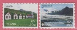 1995 ** Islande  (sans Charn., MNH, Postfrish)  Yv  779/80Mi  824/5 - Nuevos