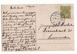 Deinum Langebalk - 1918 - Postal History
