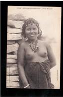 EROTIC Afrique Occidentale - Fille Maure, Fortier Ca 1910 -20 Old Postcard - Afrique Du Sud, Est, Ouest