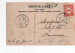 Limmen Grootrond - 1908 - Postal History